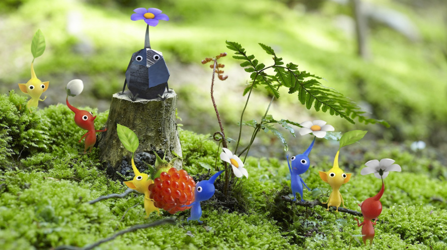 Pikmin 3 Nature