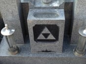 Legend of Zelda's Triforce Gets Carved Into A Japanese Tombstone