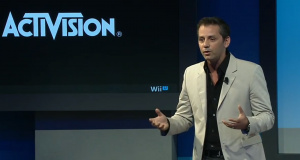 Hirshberg at the Wii U launch reveal in 2012