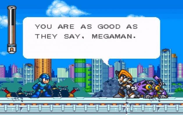 Mega Man 7 Screen