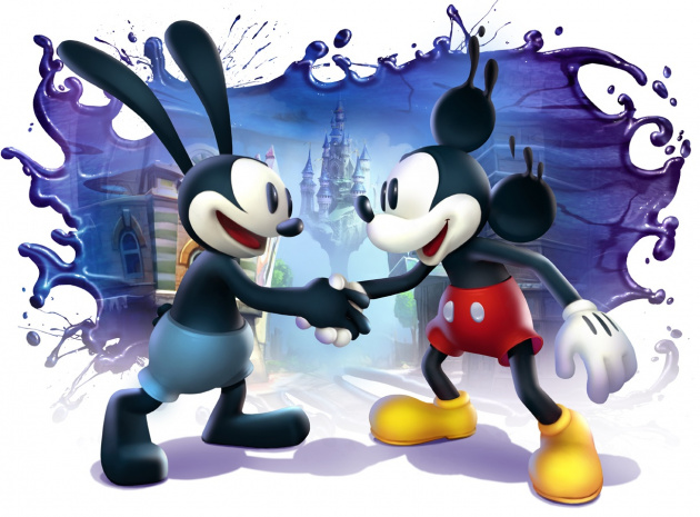 Epic Mickey 2- Shaking Hands Final Sm