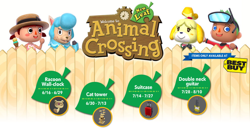 New Leaf Animal Crossing Furniture List