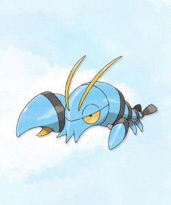 Clauncher - a Water type crab 'mon