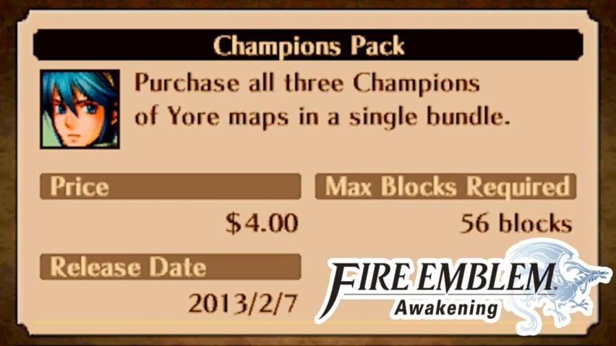 Fire Emblem Champions Pack
