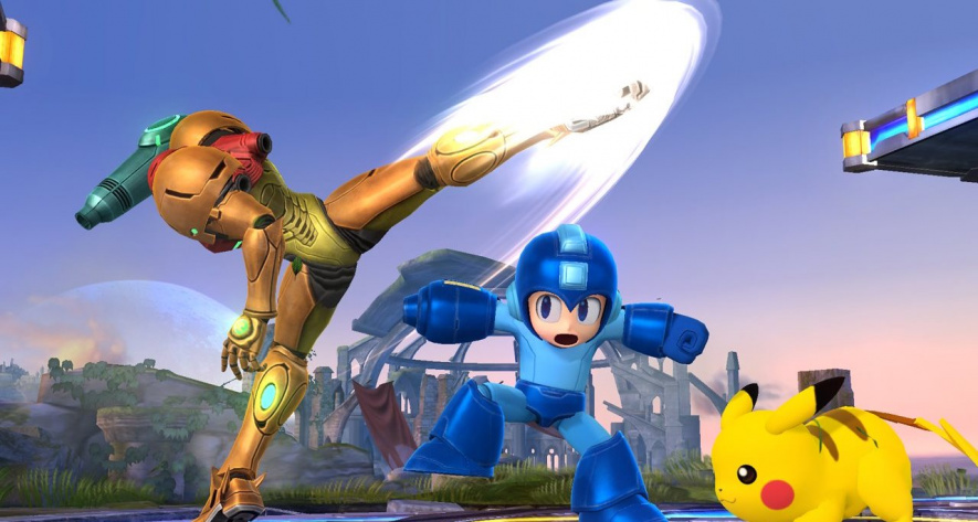 Smash Bros Wii U Screen