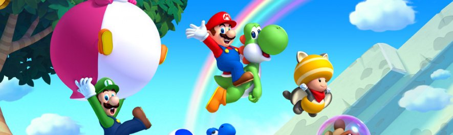 New Super Mario Bros U Banner