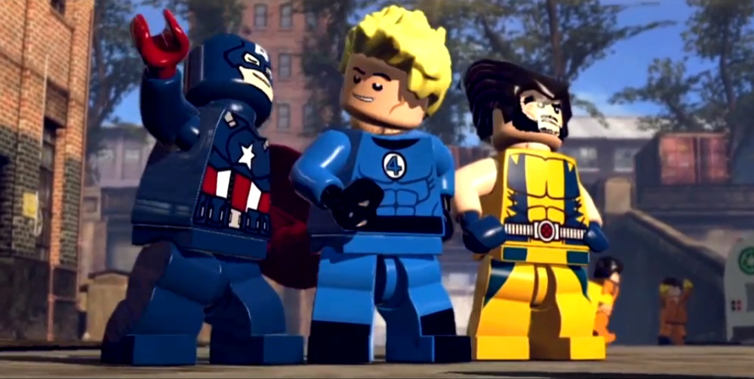 Video: lego marvel super heroes e3 trailer saves the day
