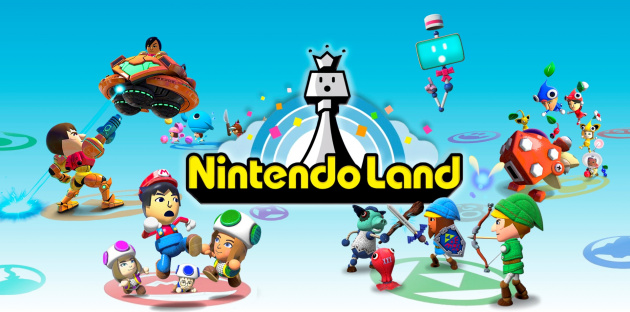 Nintendo Land Games Wide by Alenintendo D5 Lsn5 V