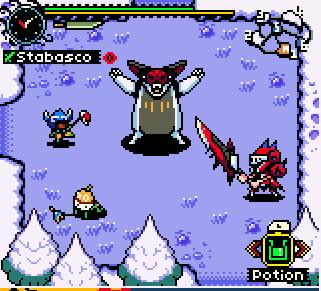 Monster hunter game boy game