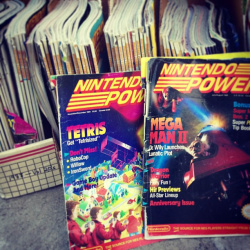 Xander Davis' Nintendo Power collection