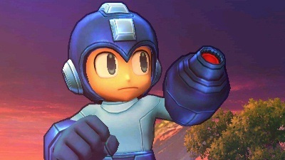 D'awwww, the Blue Bomber is super cute