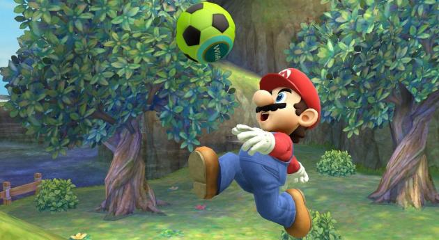 Wrong game, Mario