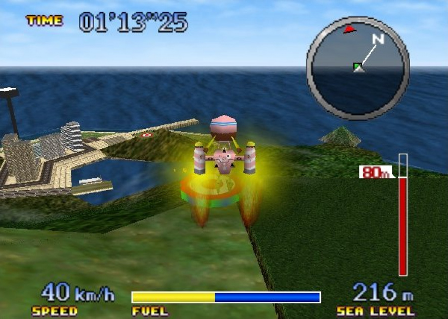 Pilotwings 64 was seen as a massive step up from its prequel