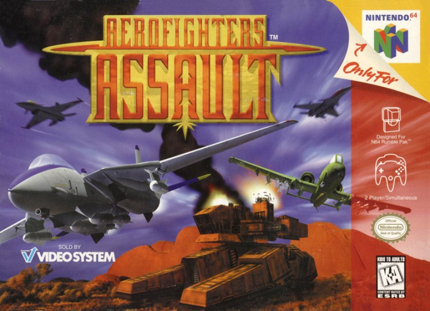 Aero Fighters Assault was Paradigm's next stab at flight on the N64