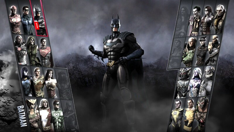 Injustice gods among us update sneaks out of the shadows nintendo batman aint afraid of his new challengers voltagebd Choice Image