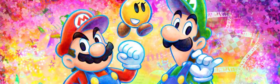 Mario and Luigi Bros Banner