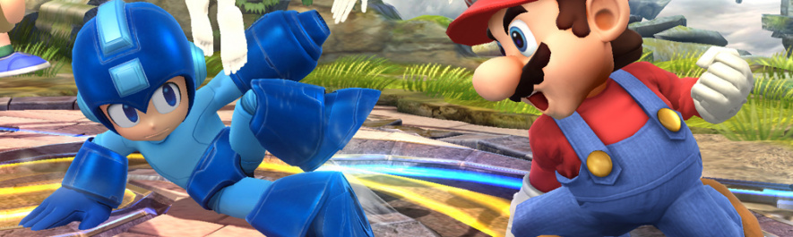 Smash Bros Banner Wii U