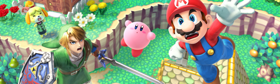 Super Smash Bros 3 DS Banner