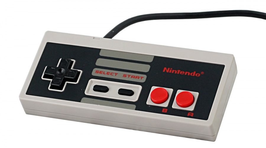 Yes, we know this is an NES, not Famicom, controller