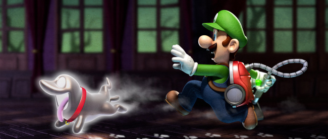 Luigis Mansion Art 2