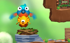 A different kind of flock could have appeared in Toki Tori