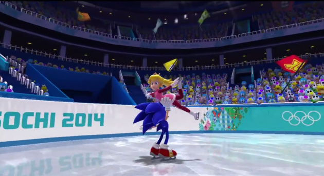 Mario and Sonic Winter 2014