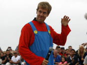 Formula One Champion Sebastian Vettel Channels His Inner Mario