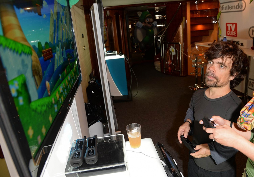 Peter Dinklage plays a mean game of New Super Mario U