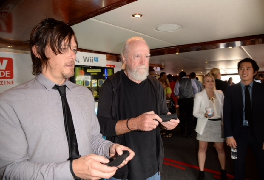 Walking Dead stars Norman Reedus and Scott Wilson were spared the terrible Wii U adaptation of their TV show