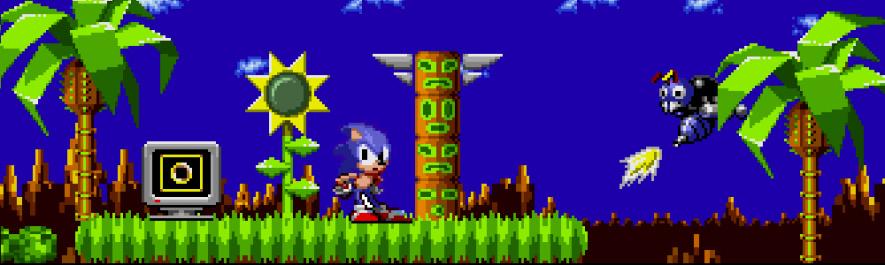 Sonic 1 Banner