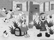 Zelda And Pokémon Revisited As 1930s Disney Cartoons