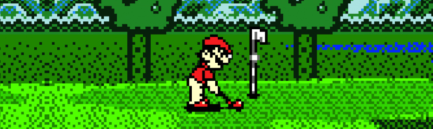 Mario Golf Banner