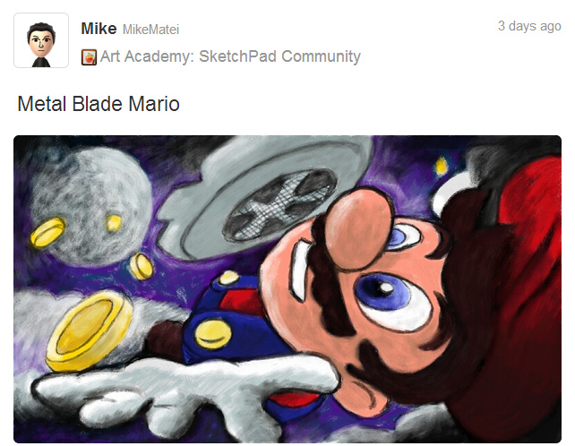 Metal Blade Mario