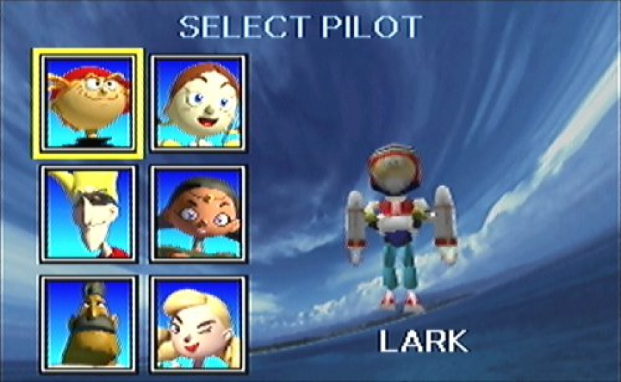Character Select Screen Pilotwings 64