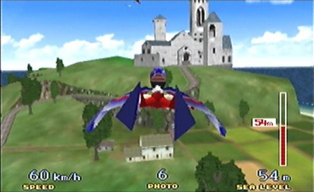 Goose Birdman Pilotwings 64