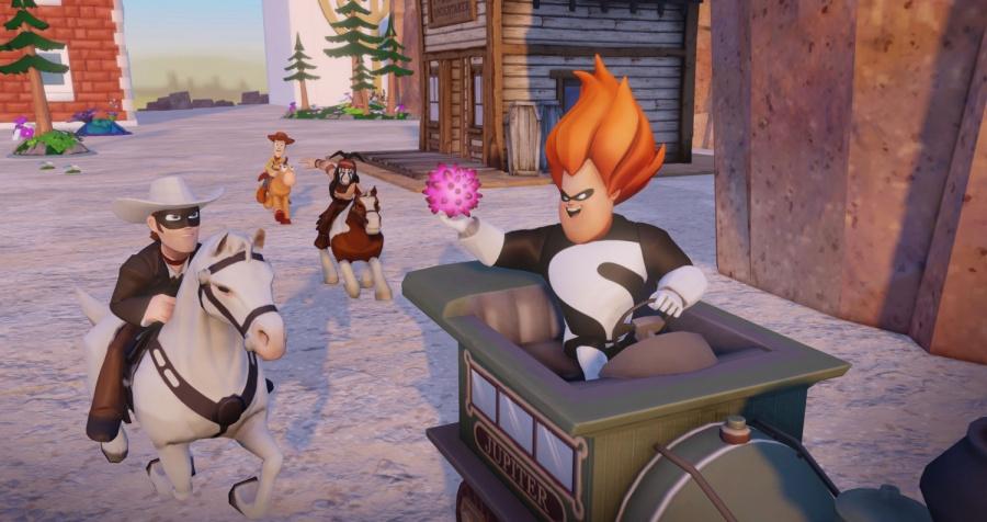 Disney Infinity Toy Box Lone Ranger 3