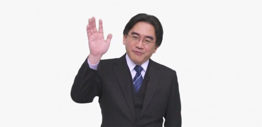 Well hello, Mr. Iwata!
