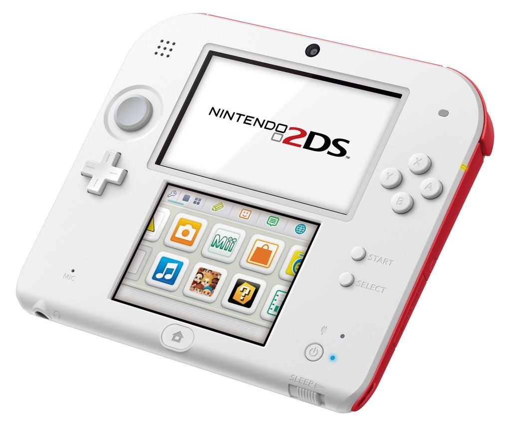 nintendo 2ds is actually made with just one screen. Black Bedroom Furniture Sets. Home Design Ideas