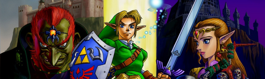Ocarina of Time N64 Banner