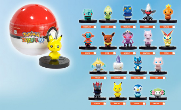 Pokemon U Figures UK