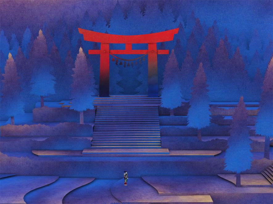 Tengami Screen
