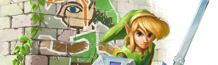 Zelda Link Between Worlds Banner