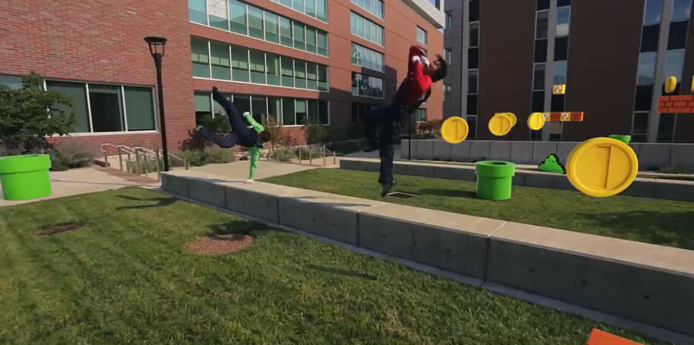 weirdness mario bros parkour action is all the rage nintendo life