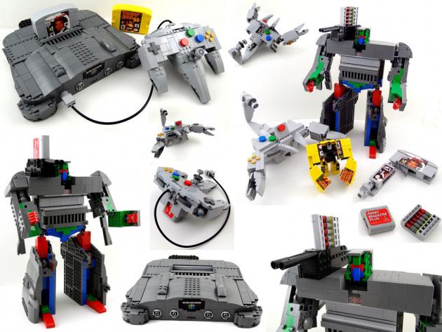 Nintendo 64 LEGO Transformers