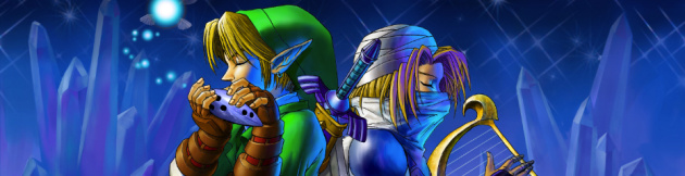 Ocarina of Time 3 D Banner