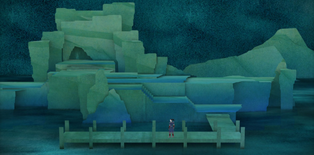 Tengami's ocean level