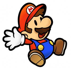 Mario spots the update