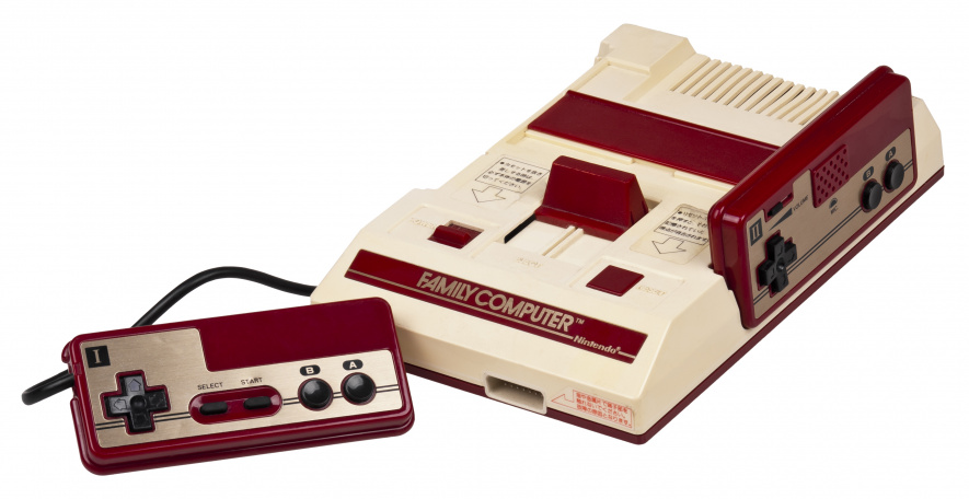 The Famicom would take Nintendo to the next level - Yamauchi specified the colour scheme