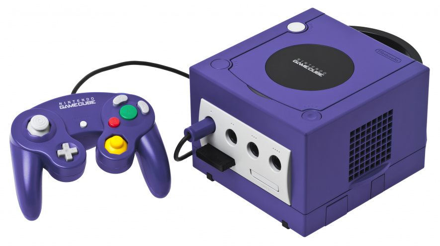 The GameCube looked like a games system in ways the PS2 and Xbox didn't