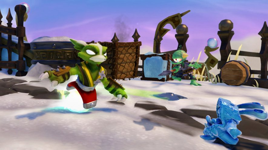 Skylanders SWAP Force Stink Charge (Stink Bomb Magna Charge)